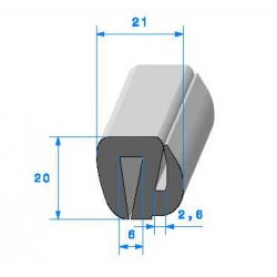 SE5259 - 21x20 mm