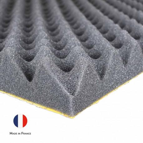 Mousse Phonique SE50AL Acoustique Alvéolaire Solutions Elastomeres