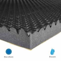 Mousse Alveolaire SE50AL-SM Mélamine Alveolaire M1 acoustique phonique isolation solutions elastomeres