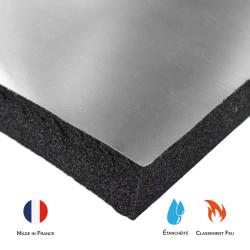 Mousse SE25M1-ALU acoustique phonique isolation solutions elastomeres