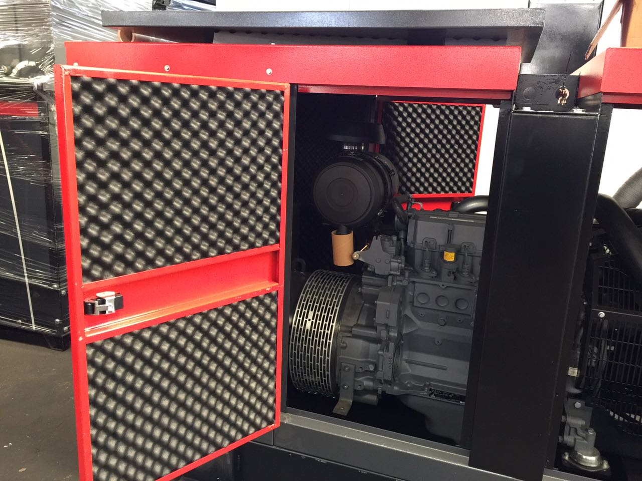 mouse acoustique machine industrielle