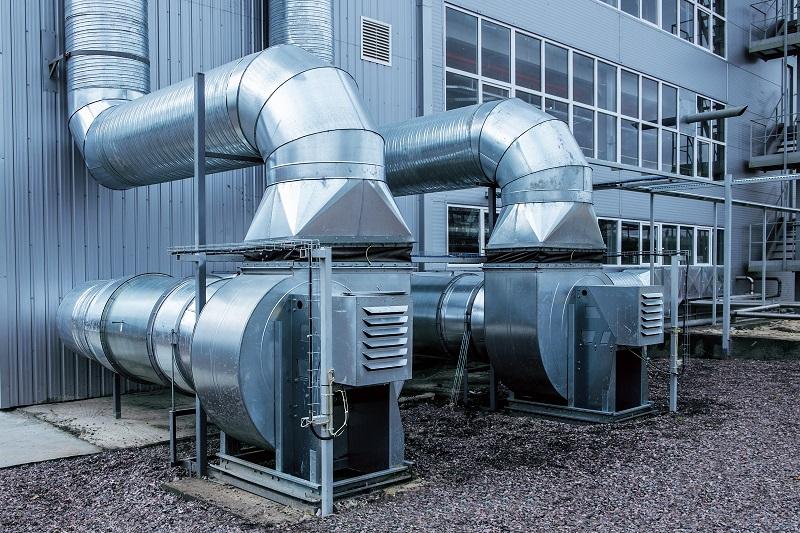 Isolation phonique ventilateur industriel