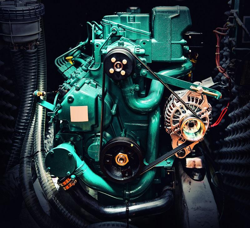 Mousse acoustique moteur bateau