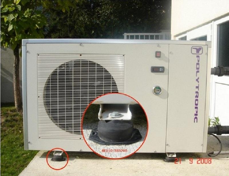 Isolation pompe à chaleur