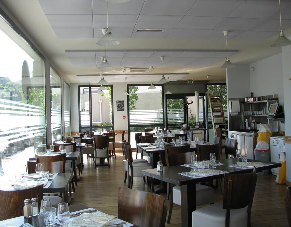 Isolation acoustique d'un restaurant